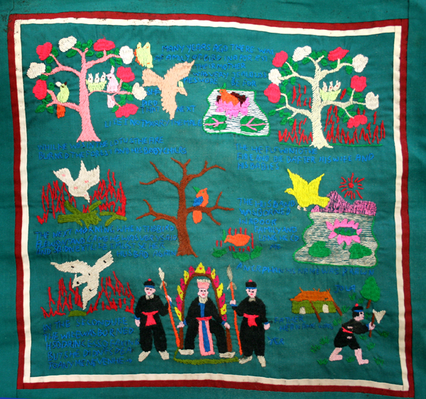 Hmong Embroidery | Applique : hmong story quilt - Adamdwight.com