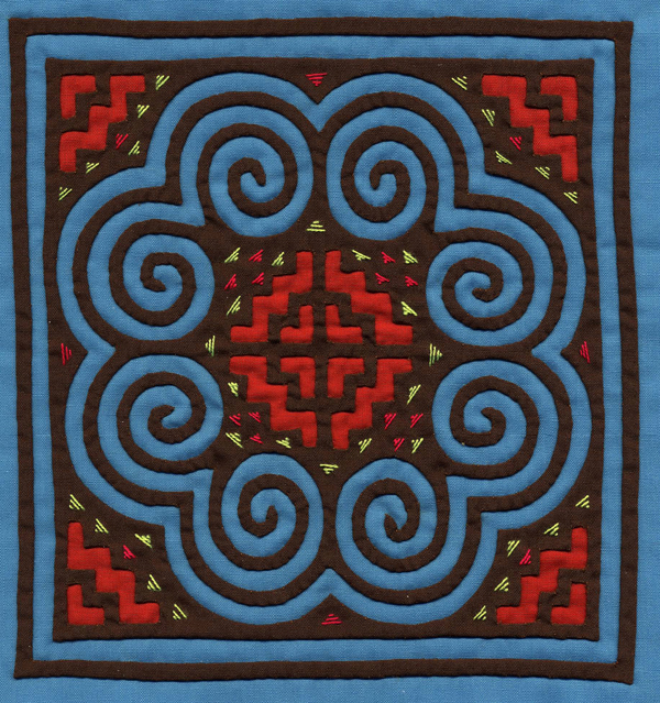 Hmong Embroidery Reverse Appliqu